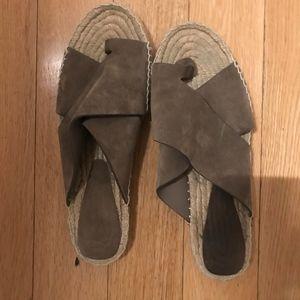 Vince suede espadrille sandals